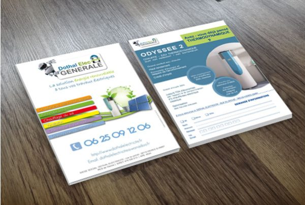 flyer-commercial-electricien