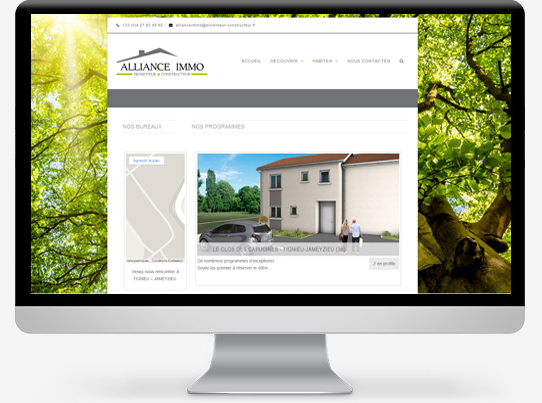 site-vitrine-alliance-immo