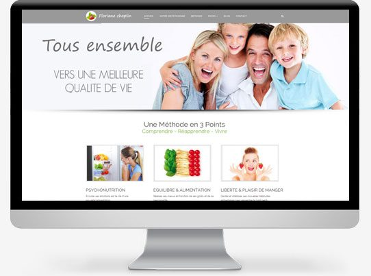 site-vitrine-dieteticienne-nutritionniste-lyon